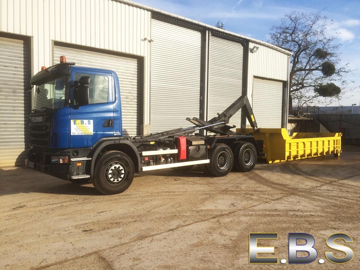 location-camion-chantier-benne-91
