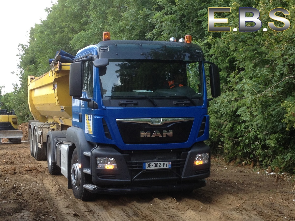 camion 15 tonnes transport matériaux