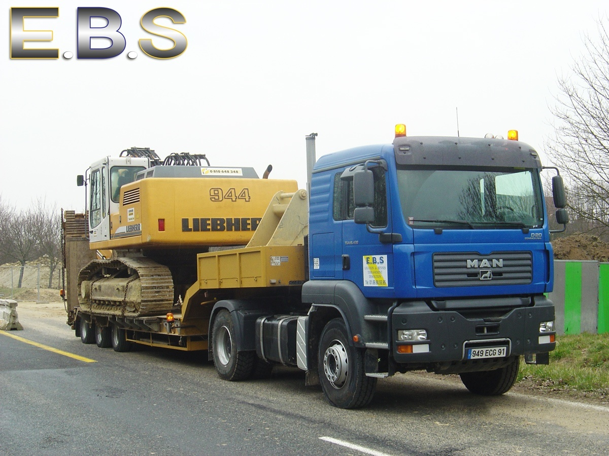 porte char transport machines chantier
