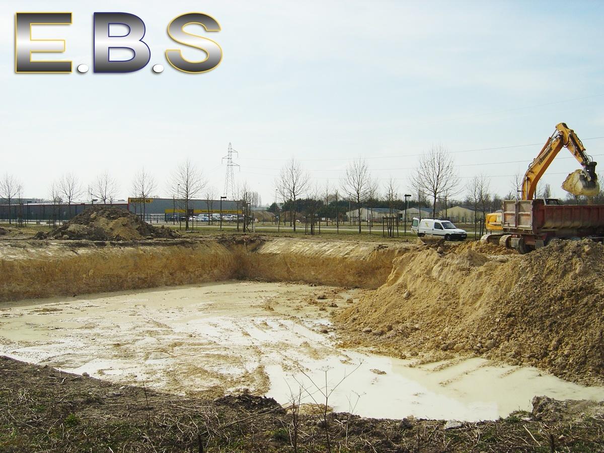 chantier fouilles de bâtiments Montargis