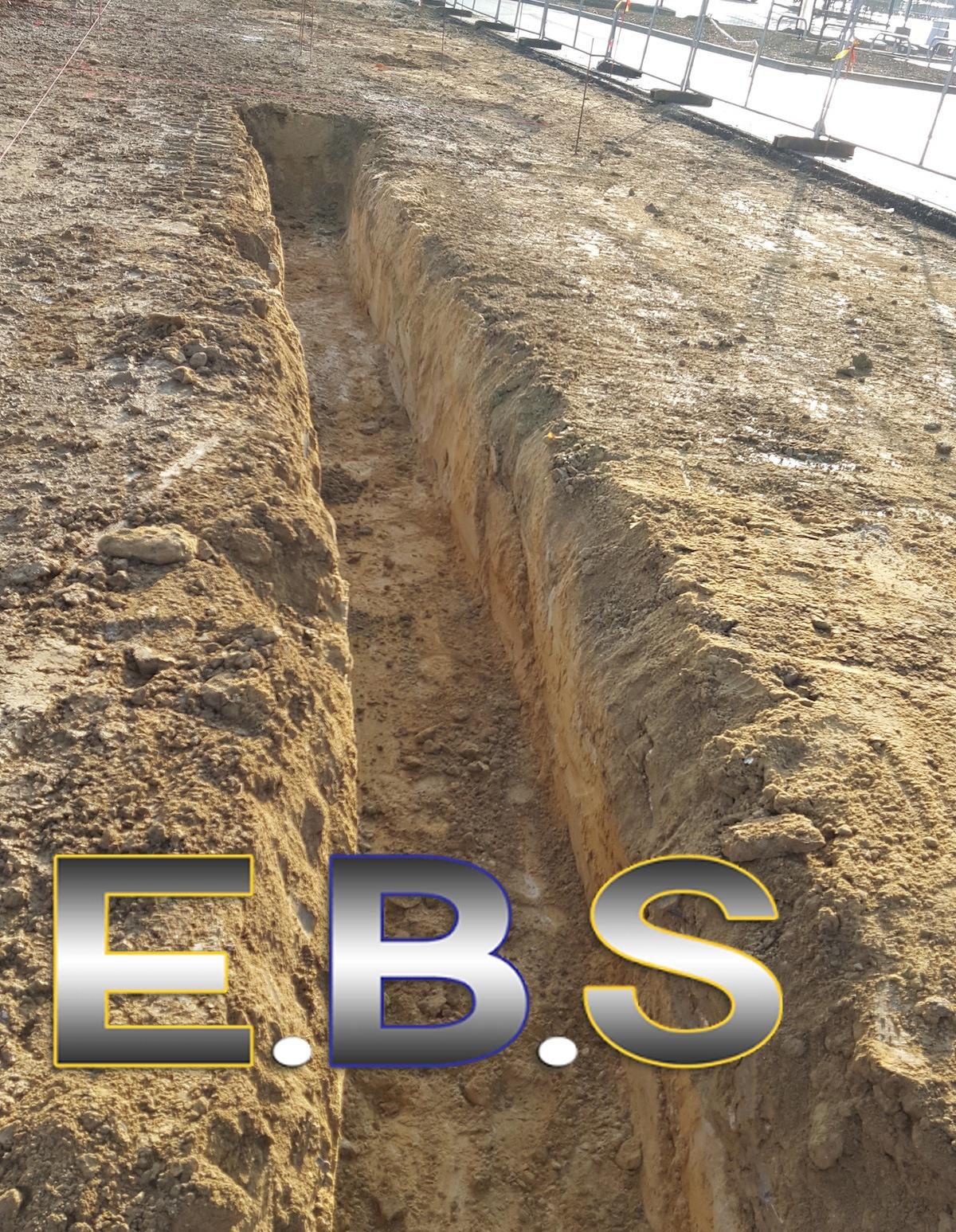 Implantation terrassement plateforme 77
